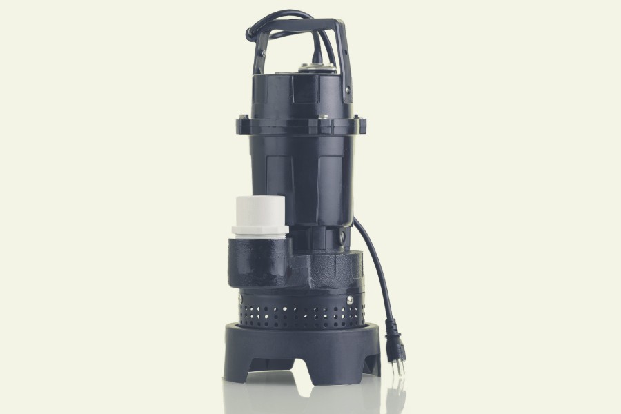 image of battery backup sump pump