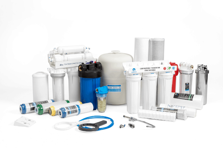 multiple whole house water filters