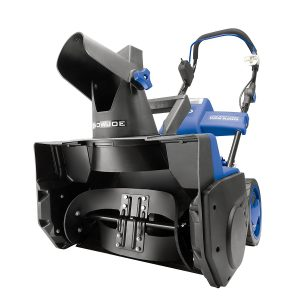 snow joe ion cordless snow blower blue