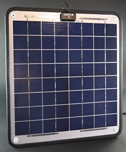 NOW 20 Watts solar panel trolling motor charger
