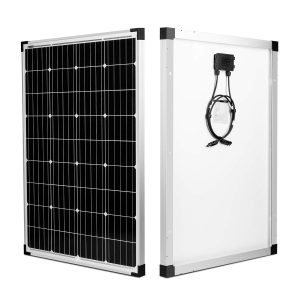 kinverch 100 Watts 12 Volts Monocrystalline Solar Panel for boats